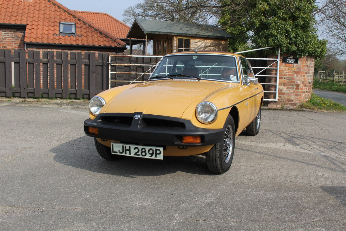 1976 MGB GT V8, Timewarp condition, 72k Original Miles For Sale (picture 3 of 16)