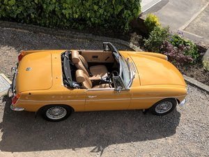 MGB roadster roadster bronze yellow