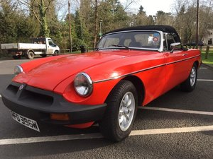 1981 MGB roadster  For Sale