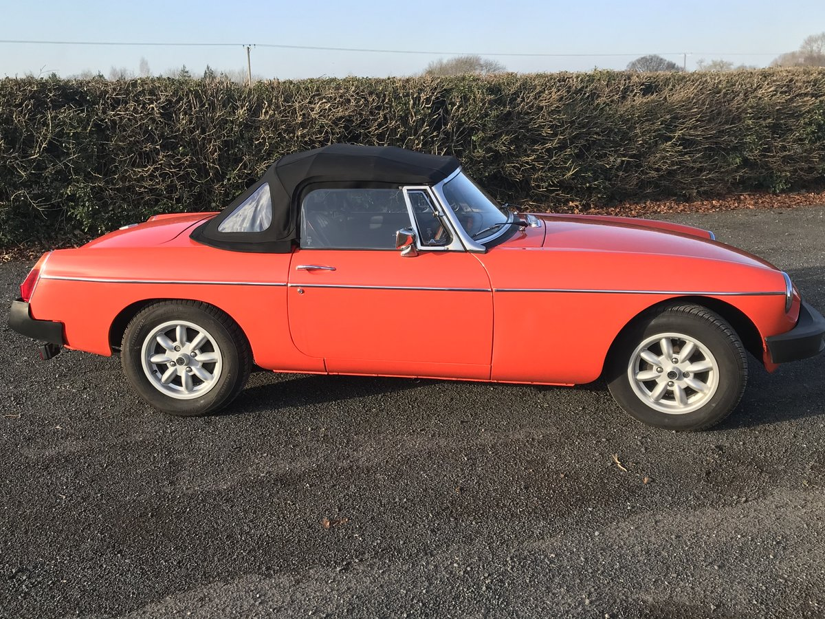 1981 MGB roadster  For Sale (picture 3 of 6)