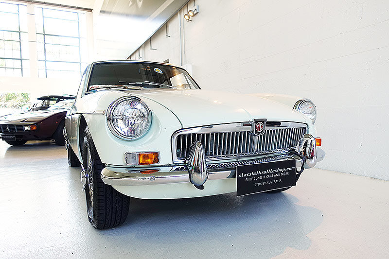 1968 Rare genuine AUS RHD MG B GT is totally original For Sale (picture 1 of 6)