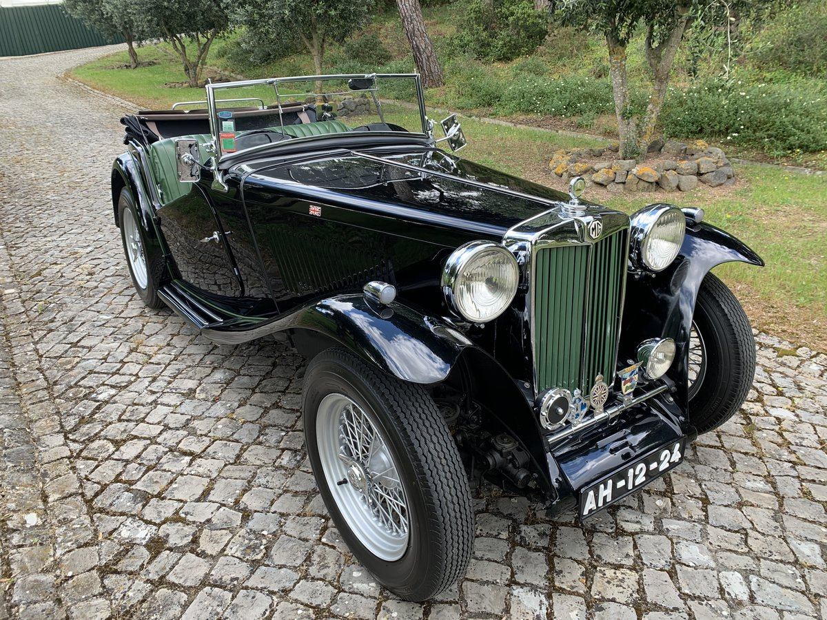 1946 MG TC Supercharged For Sale (picture 1 of 6)