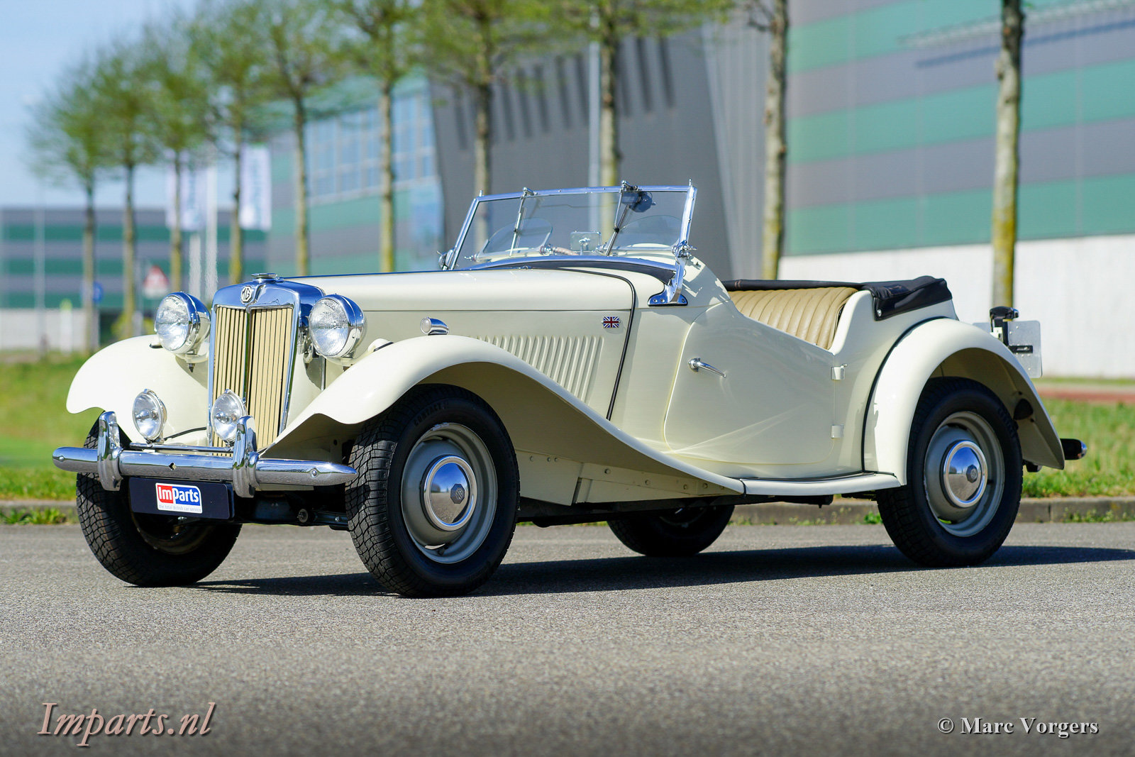 1950 Perfect early MG TD (RHD) For Sale (picture 1 of 6)