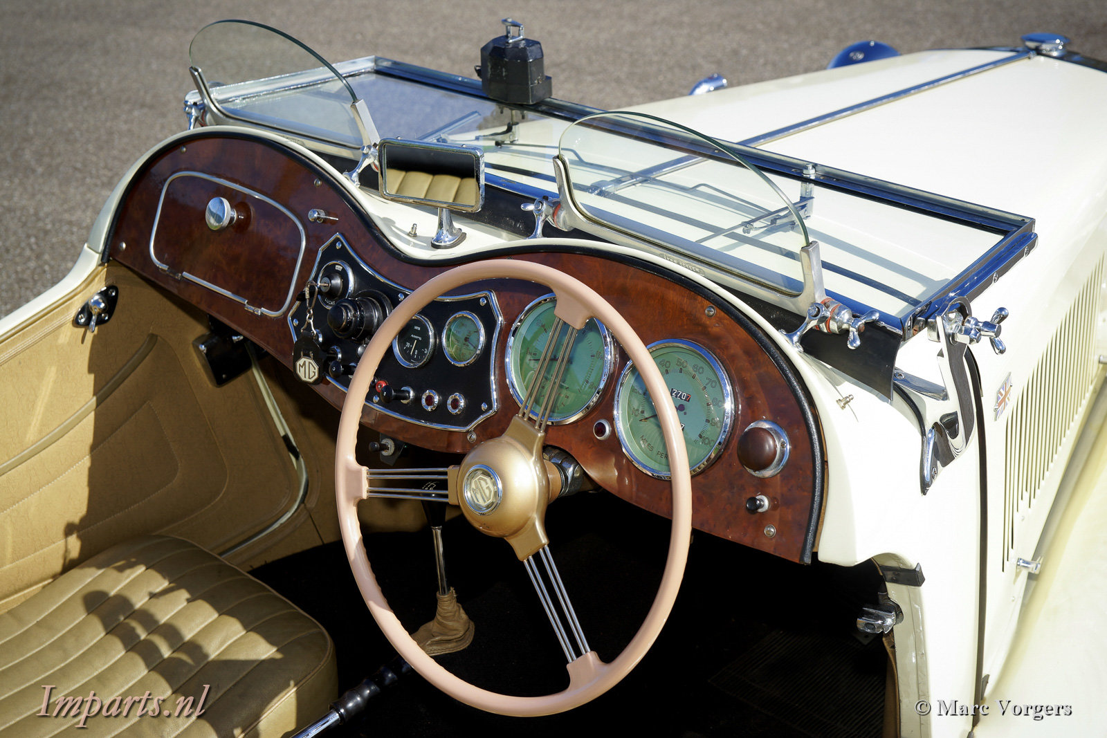 1950 Perfect early MG TD (RHD) For Sale (picture 2 of 6)