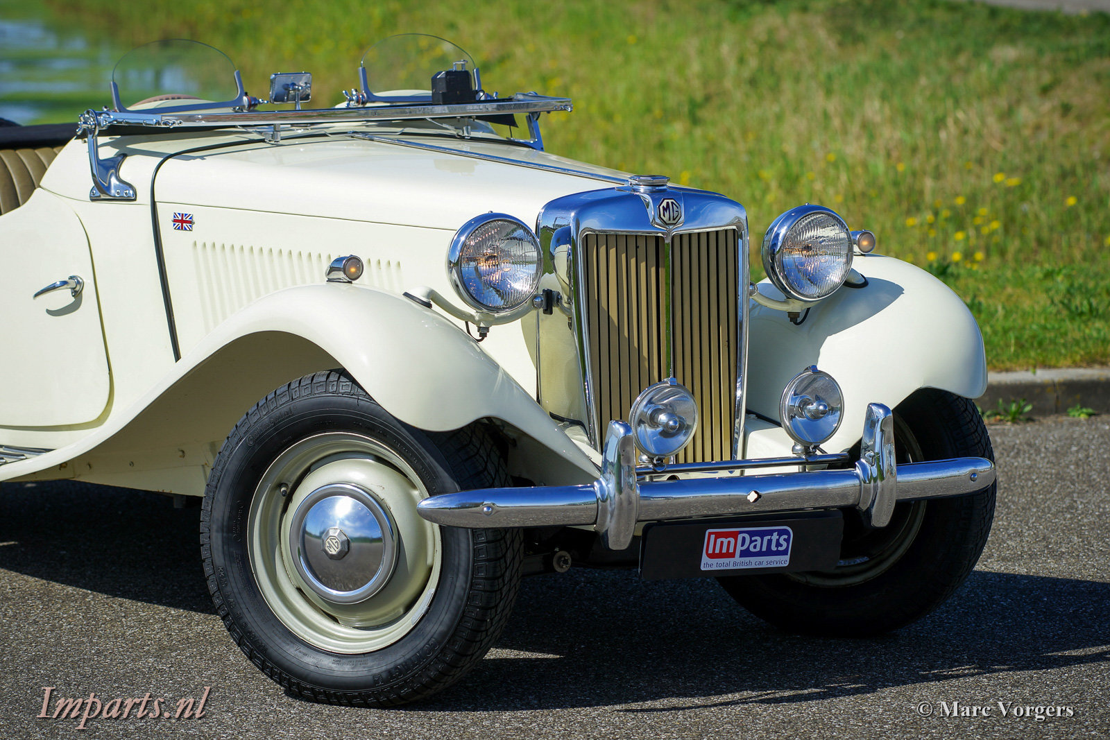 1950 Perfect early MG TD (RHD) For Sale (picture 3 of 6)
