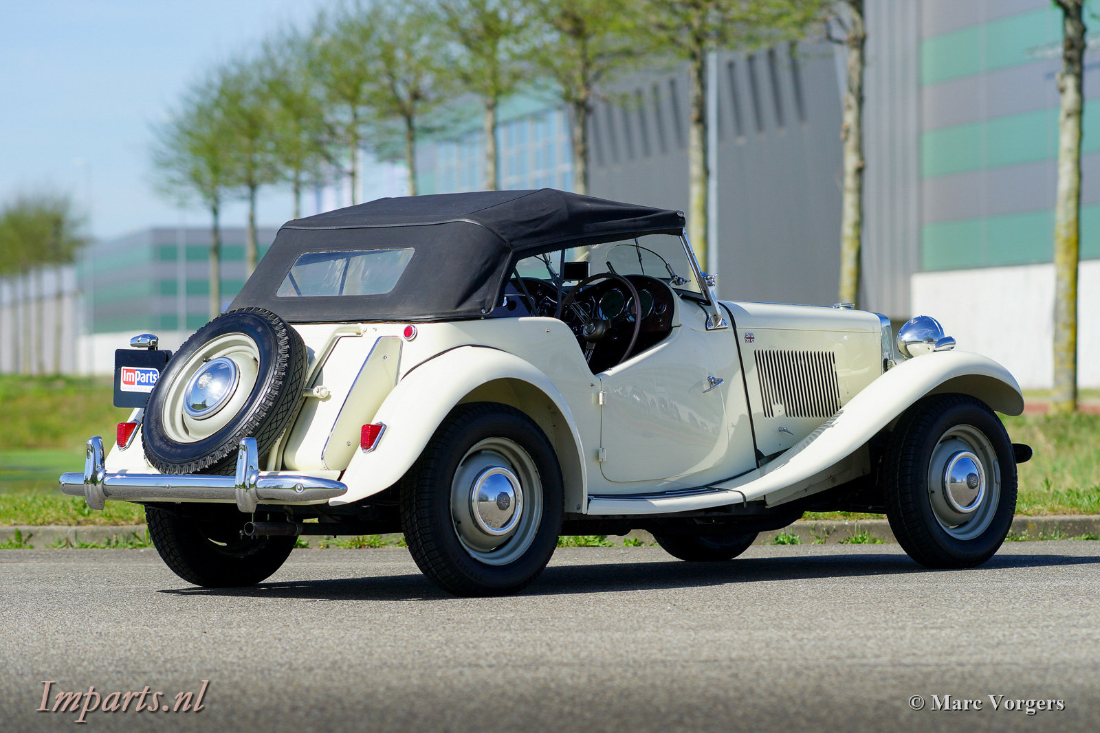 1950 Perfect early MG TD (RHD) For Sale (picture 5 of 6)