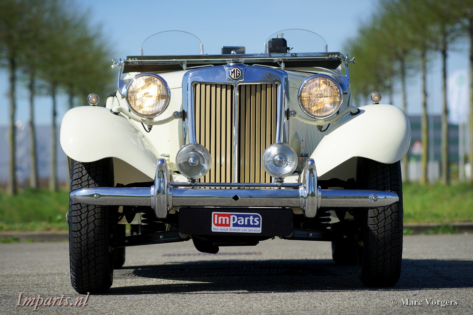 1950 Perfect early MG TD (RHD) For Sale (picture 6 of 6)
