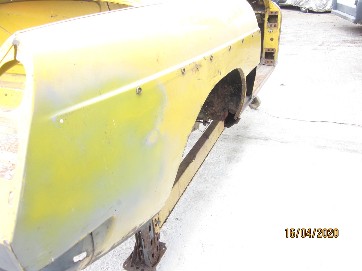 1978 MGB roadster Bodyshell For Sale (picture 1 of 6)