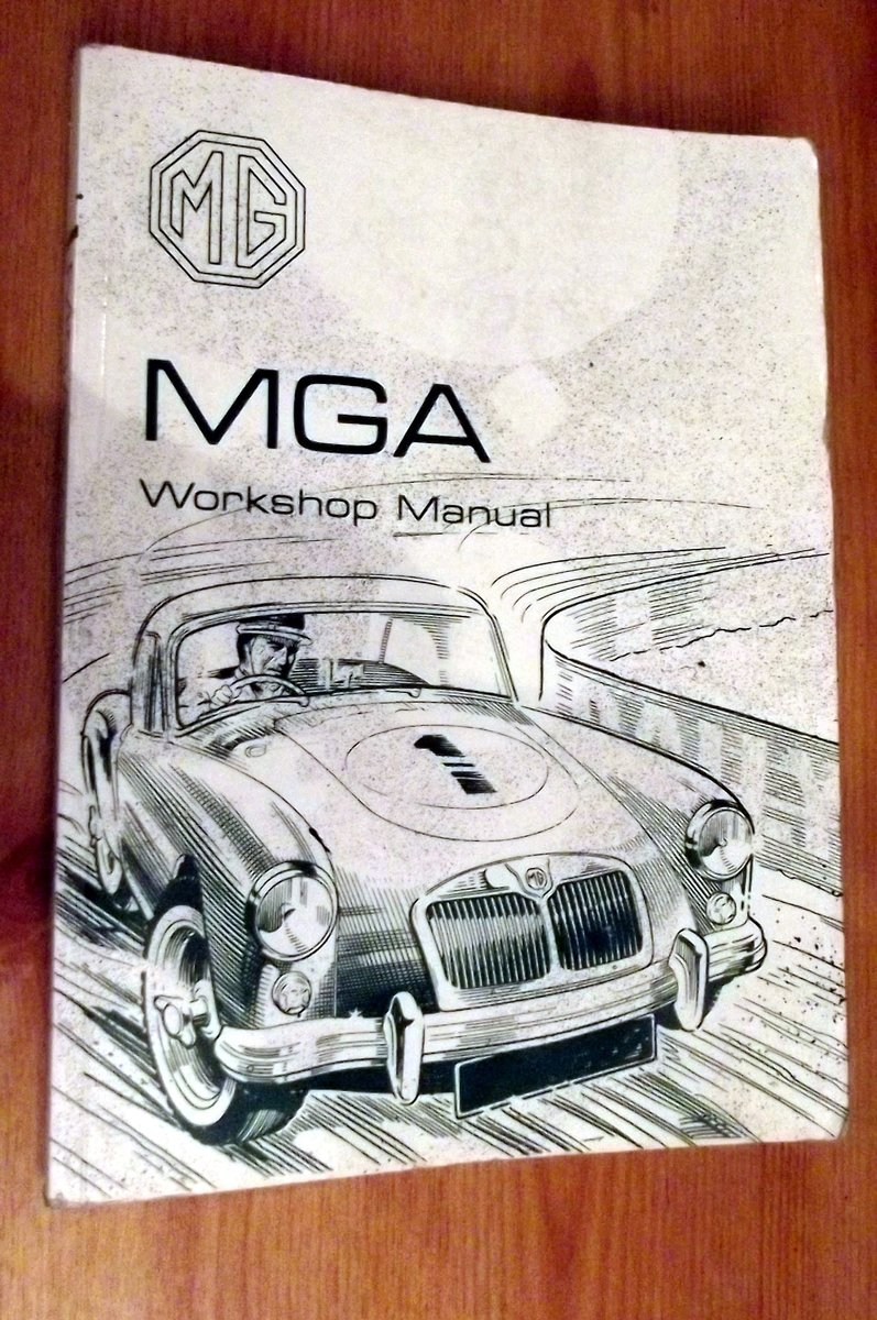0000 MGA MEMORABILIA AND MANUAL FOR SALE For Sale (picture 2 of 5)