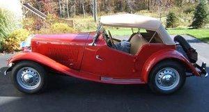 1951 MG TD Roadster