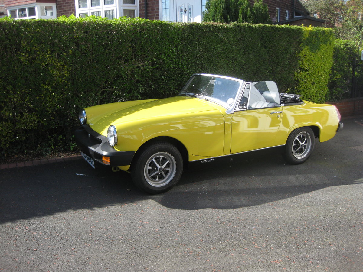 1978 mg midget SOLD (picture 1 of 6)