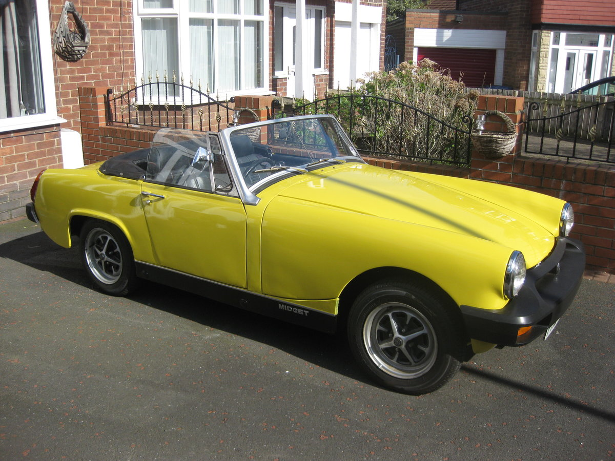 1978 mg midget SOLD (picture 2 of 6)