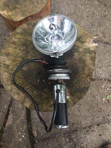 1980 Lucas Roof Mounted Spotlamp, Halda SpeedPilot For Sale