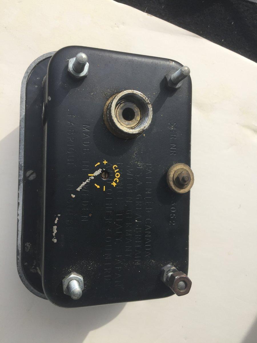1980 Lucas Roof Mounted Spotlamp, Halda SpeedPilot For Sale (picture 5 of 5)