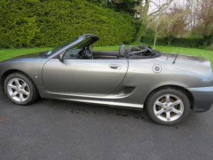 2004 MG TF 135, Metallic Grey, Black leather