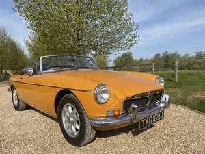 LOVELY  MGB  ROADSTER 1970  HAD A  LOT  OF  EXPENSE  OVER  Y