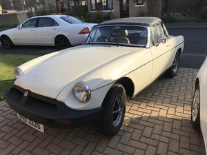 1978 MG B Roadster For Sale by Auction