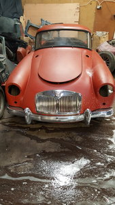 Mga rare car with wire wheels restoration project
