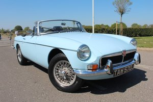 1970 MGB Roadster, Iris Blue. For Sale