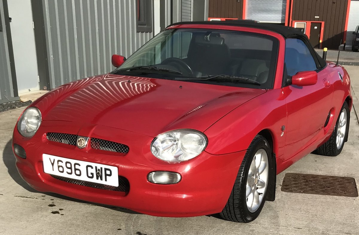 2001 Lovely Red MGF SOLD (picture 2 of 6)
