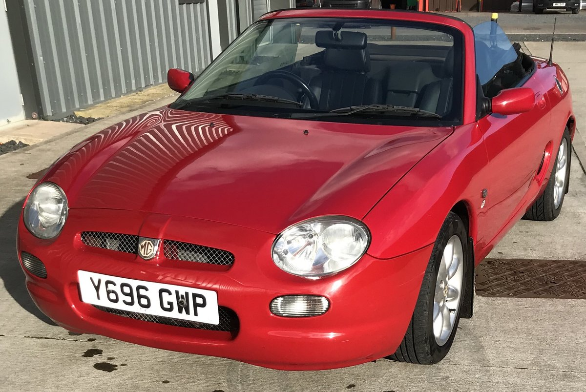 2001 Lovely Red MGF SOLD (picture 6 of 6)