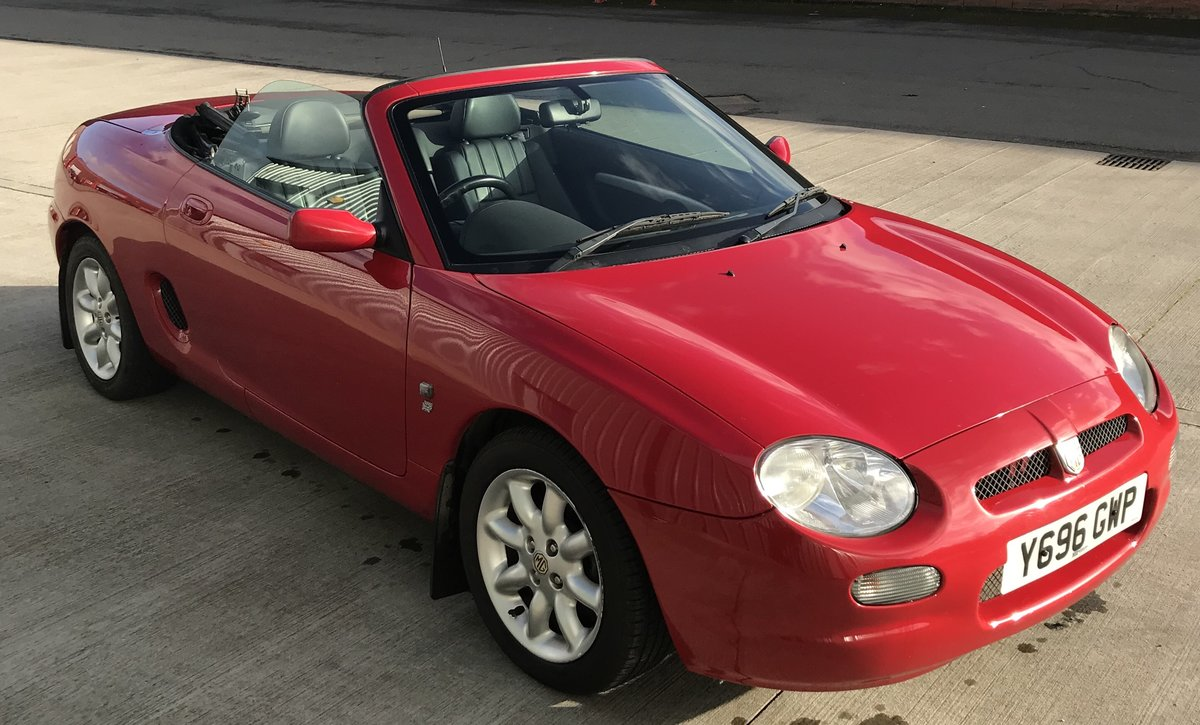 2001 Lovely Red MGF SOLD (picture 1 of 6)