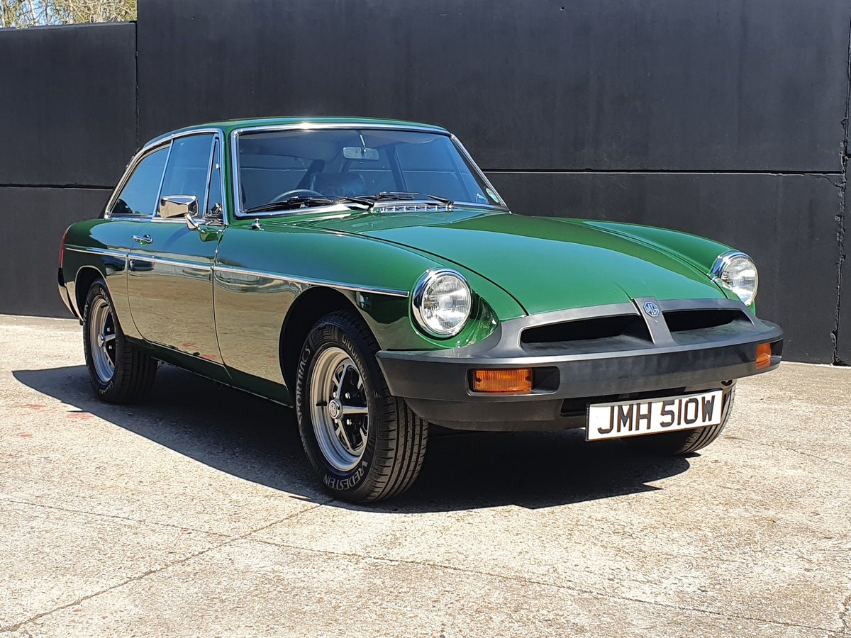 1980 MGB GT - 1,670 genuine miles - A Collectors piece! For Sale (picture 1 of 6)