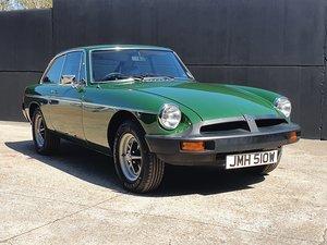 1980 MGB GT - 1,670 genuine miles - A Collectors piece!