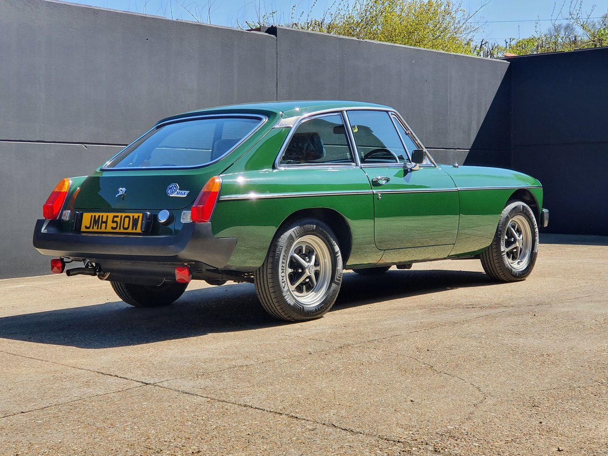 1980 MGB GT - 1,670 genuine miles - A Collectors piece! For Sale (picture 2 of 6)