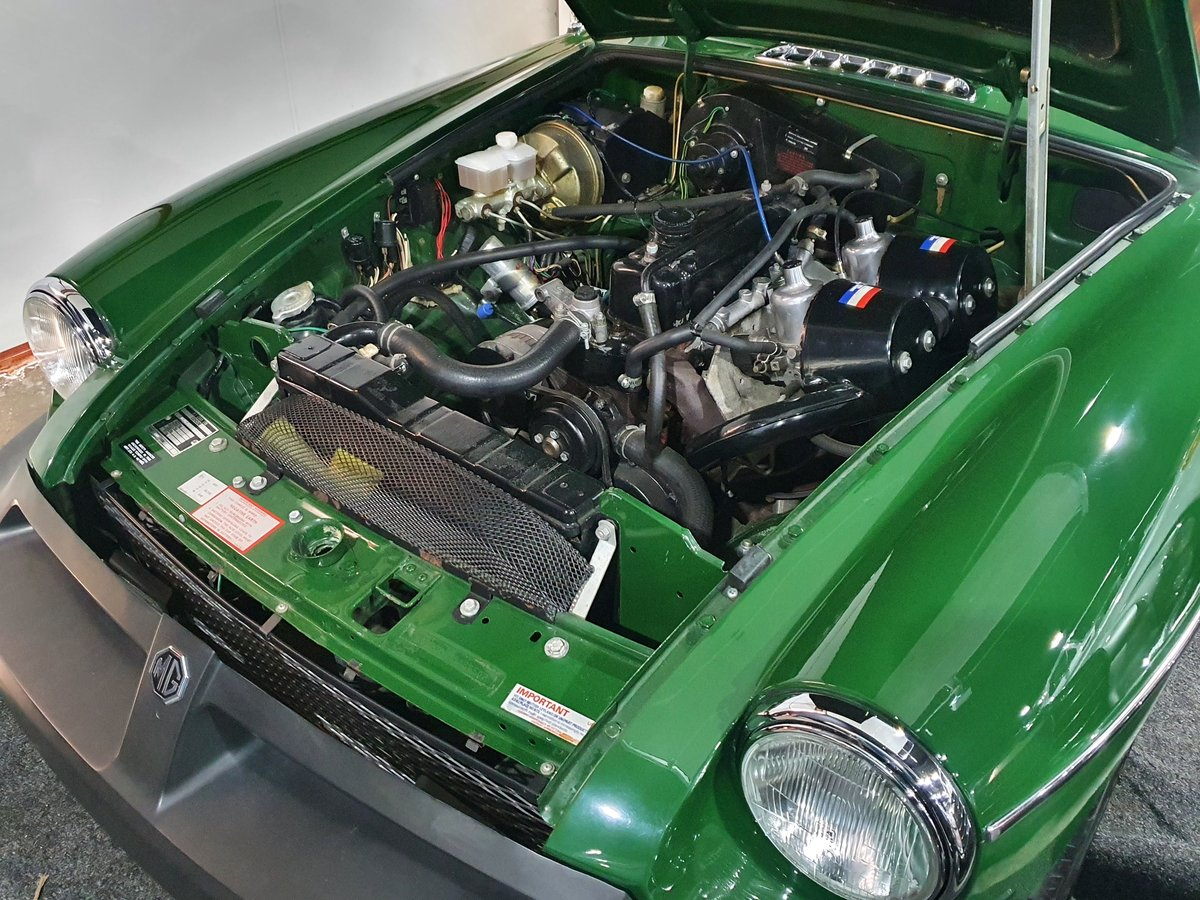 1980 MGB GT - 1,670 genuine miles - A Collectors piece! For Sale (picture 6 of 6)