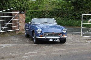 1966 MGB Roadster, show standard, original colours, UK car