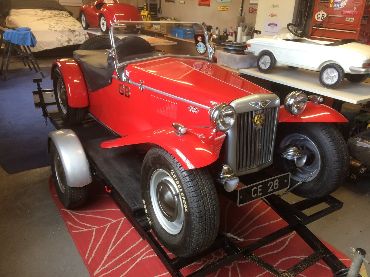 1980 Mg 2/3rd scale model, petrol engine auto superb For Sale (picture 2 of 6)