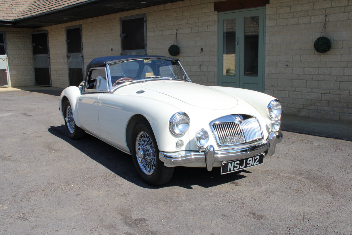 1957 MG A 1500 ROADSTER  For Sale (picture 1 of 20)