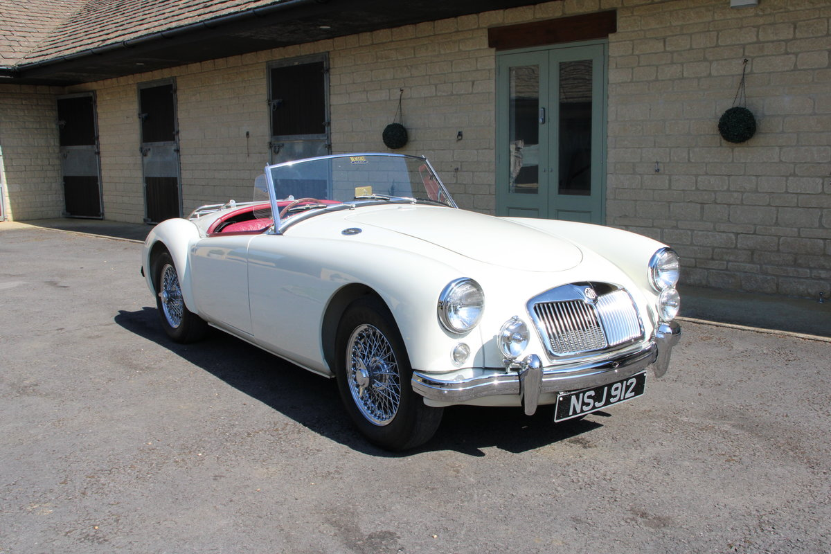 1957 MG A 1500 ROADSTER  For Sale (picture 5 of 20)