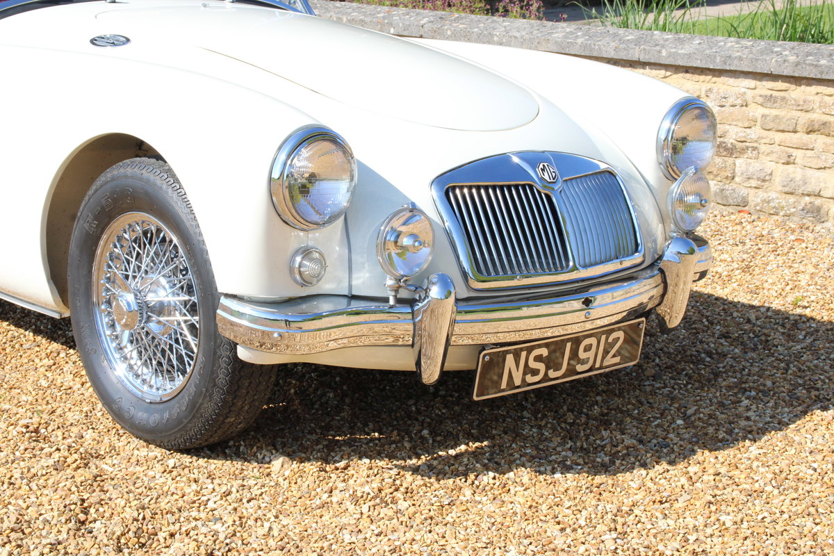 1957 MG A 1500 ROADSTER  For Sale (picture 7 of 20)