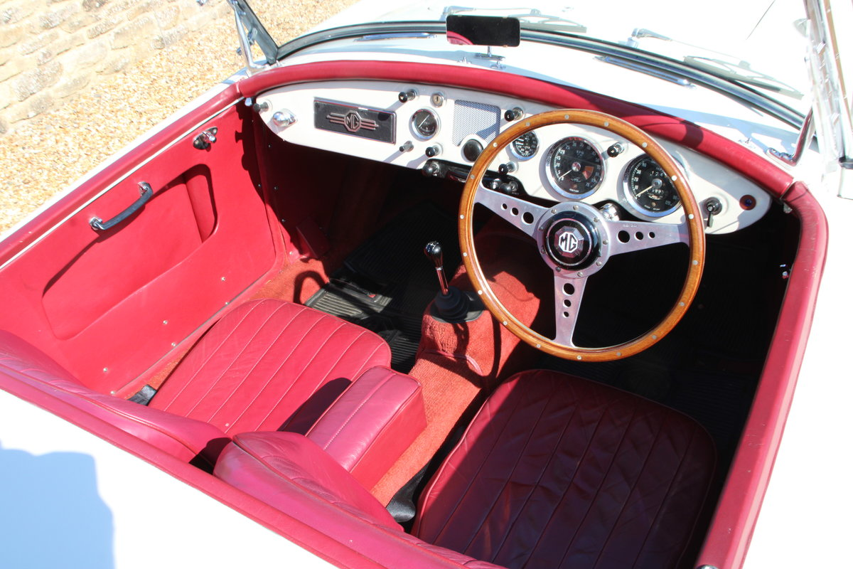1957 MG A 1500 ROADSTER  For Sale (picture 9 of 20)