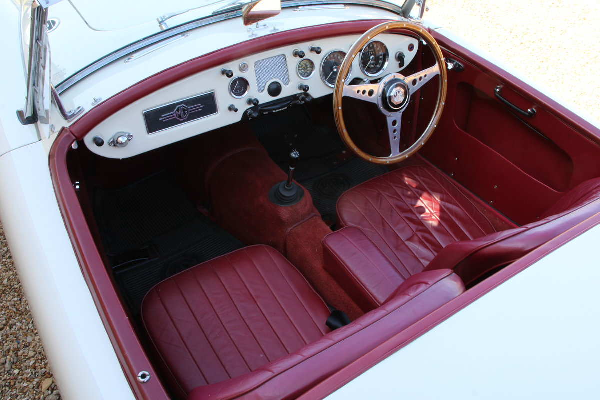 1957 MG A 1500 ROADSTER  For Sale (picture 19 of 20)