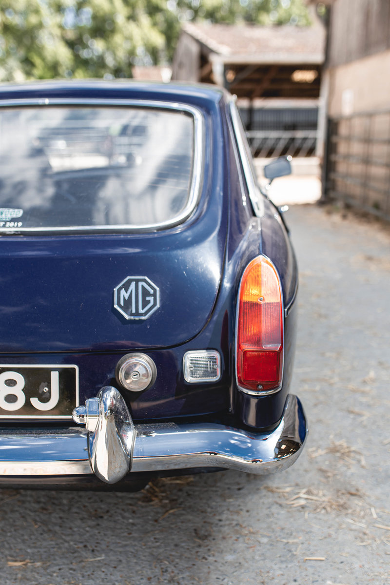 1971 MGB GT for hire in London and Surrey For Hire (picture 4 of 6)