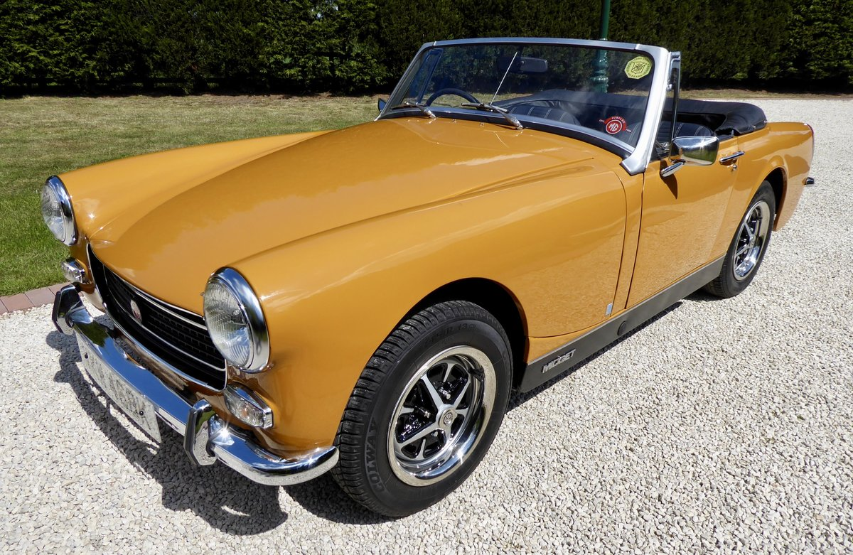 1972 MG Midget RWA 1275 SOLD (picture 1 of 6)