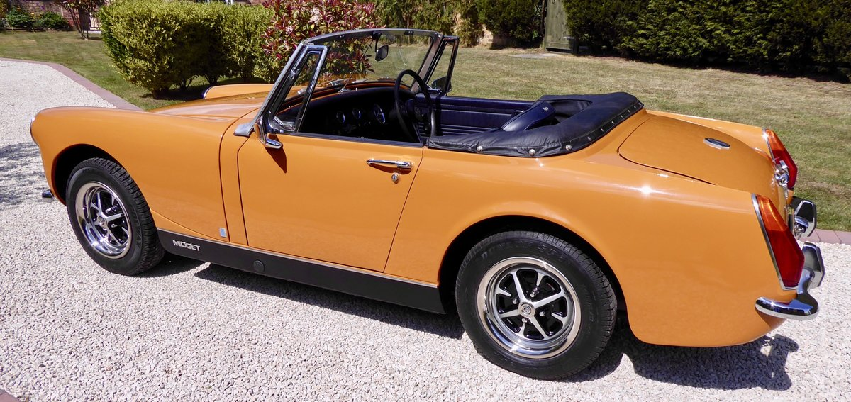 1972 MG Midget RWA 1275 SOLD (picture 3 of 6)