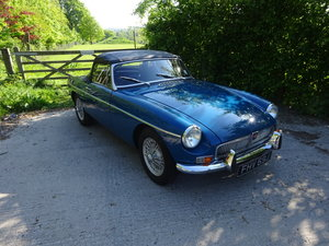 1971 MGB Roadster - Heritage shell For Sale