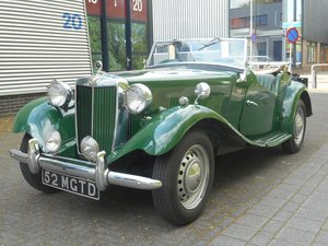 1952 MG TD LHD For Sale