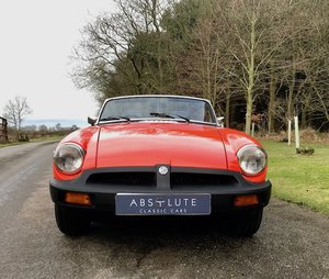 MGB Roadster - Minilites, last owner 18 yrs, an MG gem!