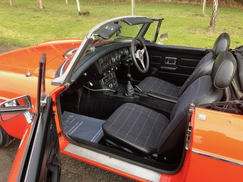 1980 MGB Roadster - Minilites - RESERVED For Sale (picture 4 of 6)