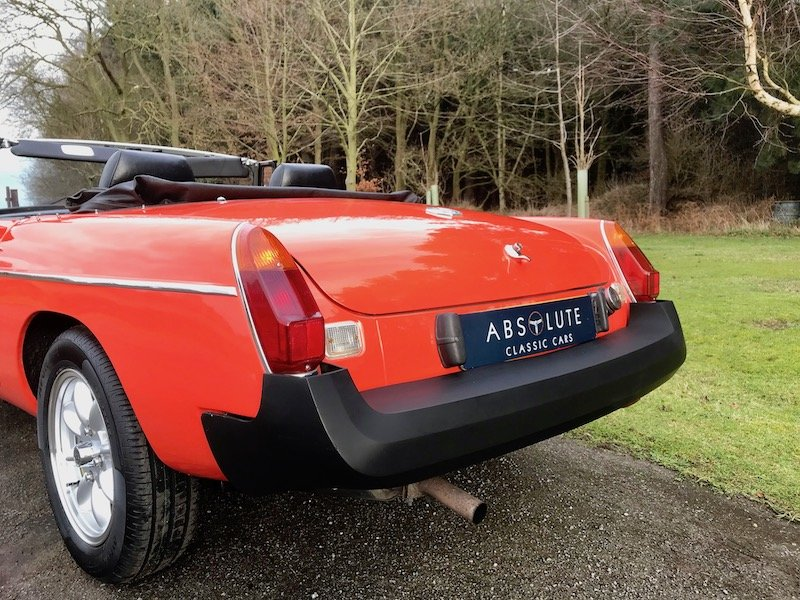 1980 MGB Roadster - Minilites - RESERVED For Sale (picture 5 of 6)