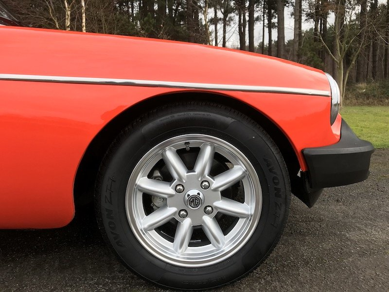 1980 MGB Roadster - Minilites - RESERVED For Sale (picture 6 of 6)