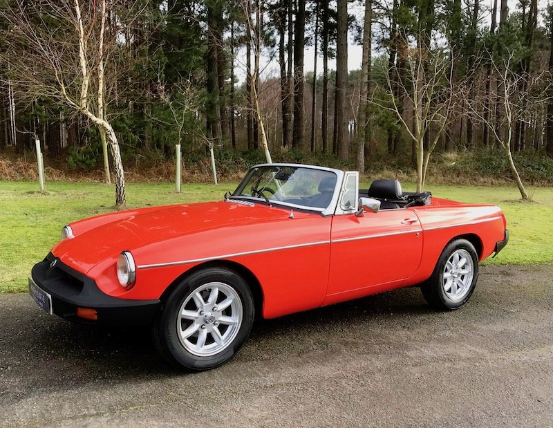 1980 MGB Roadster - Minilites - RESERVED For Sale (picture 2 of 6)