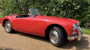 MGA Roadster, 1622cc, RHD, 5 Spd, Only 4 Owners
