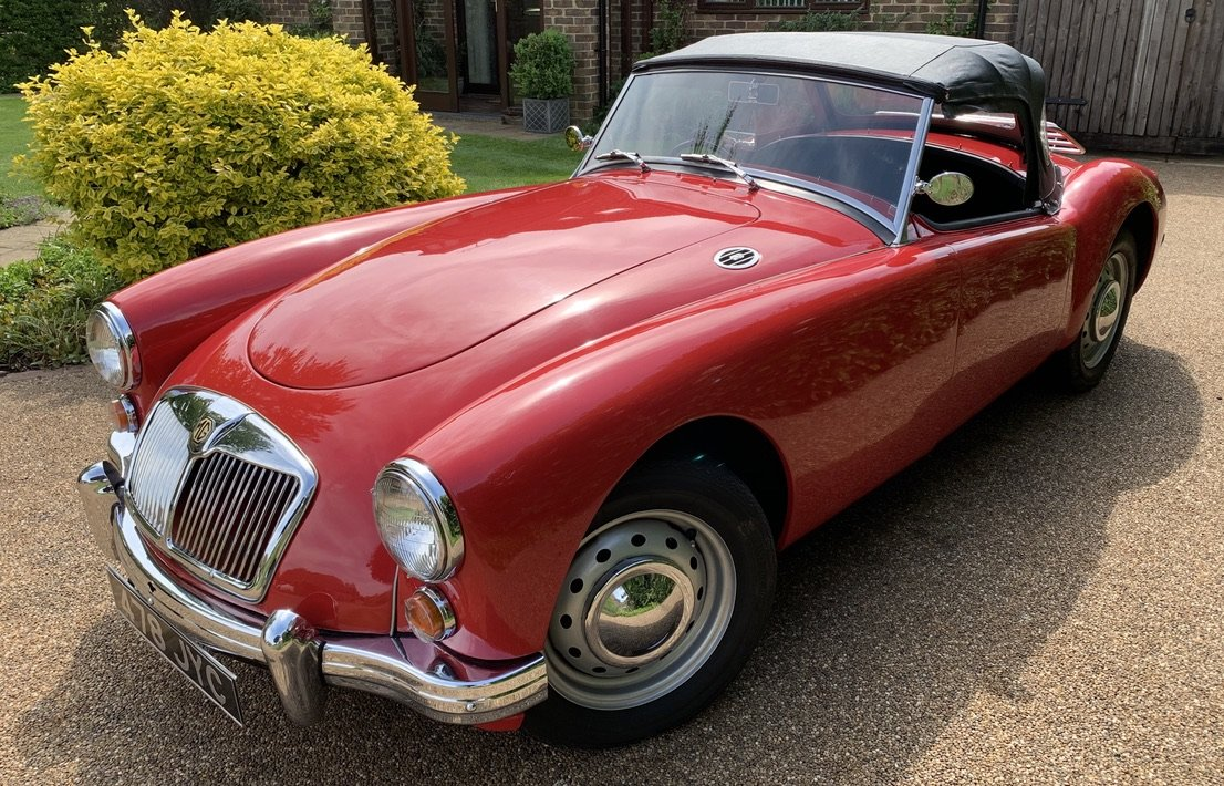 1960 MGA Roadster, 1622cc, RHD, 5 Spd, Only 4 Owners SOLD (picture 2 of 6)