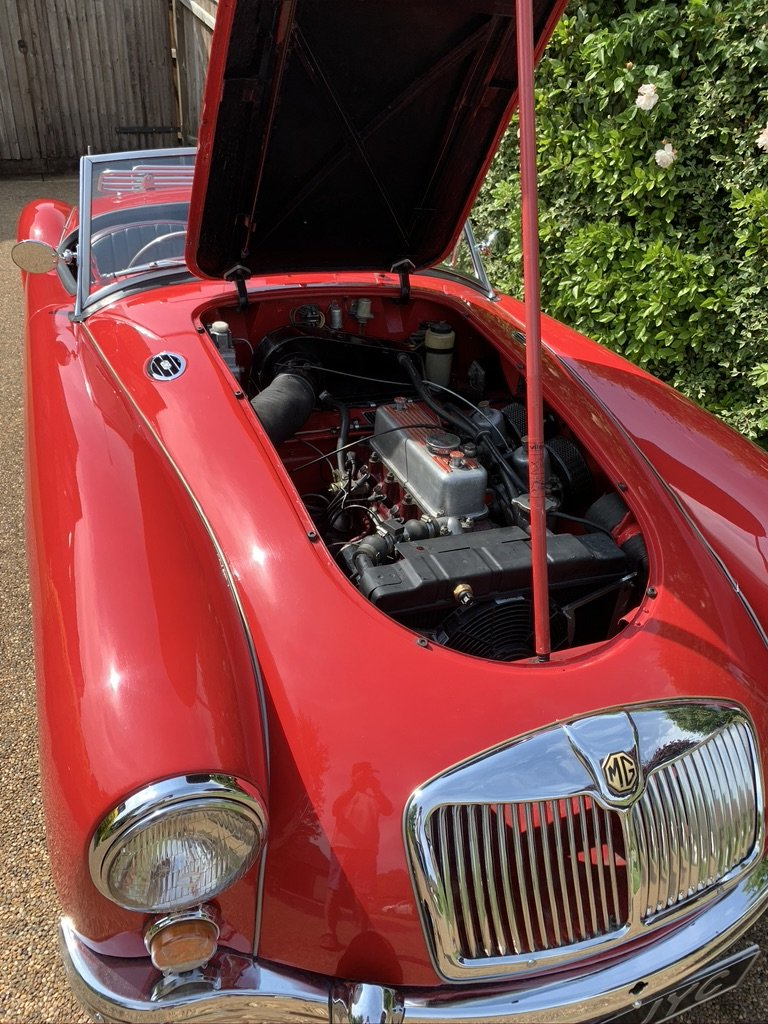 1960 MGA Roadster, 1622cc, RHD, 5 Spd, Only 4 Owners SOLD (picture 3 of 6)